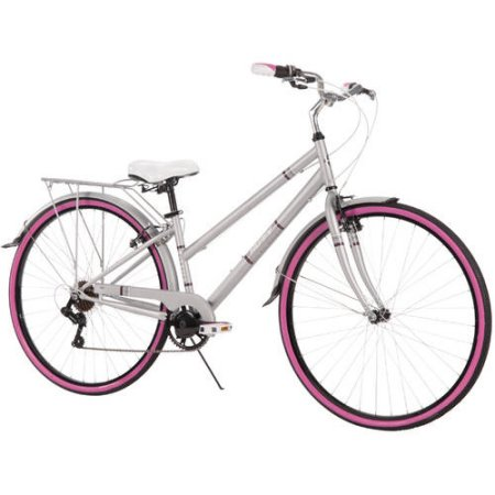 Huffy Norwood 700C Women's Cruiser Bike, Grey