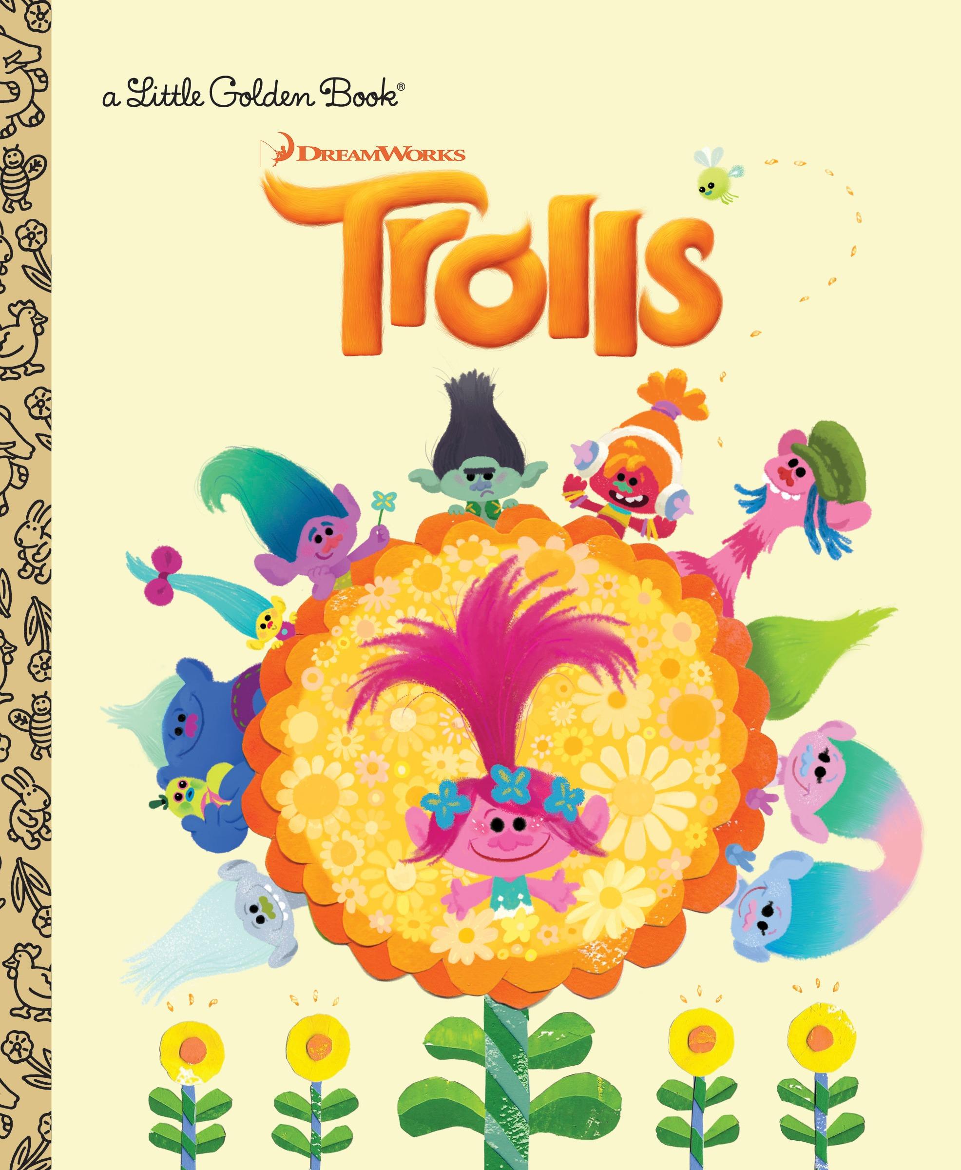 Trolls Little Golden Book (DreamWorks Trolls)