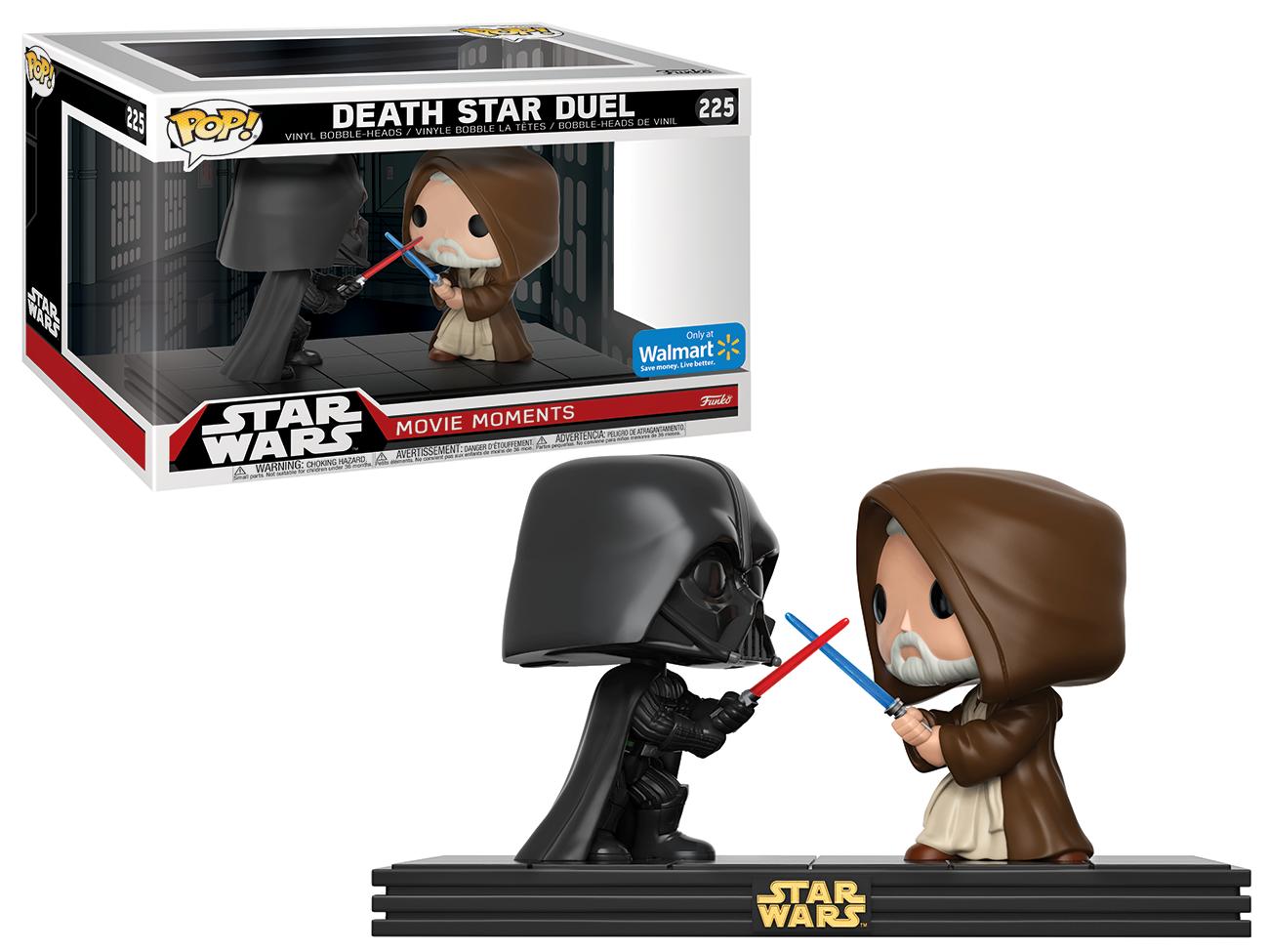 Funko POP! Star Wars: Movie Moments - Darth Vader vs. Obi Wan Kenobi Death Star