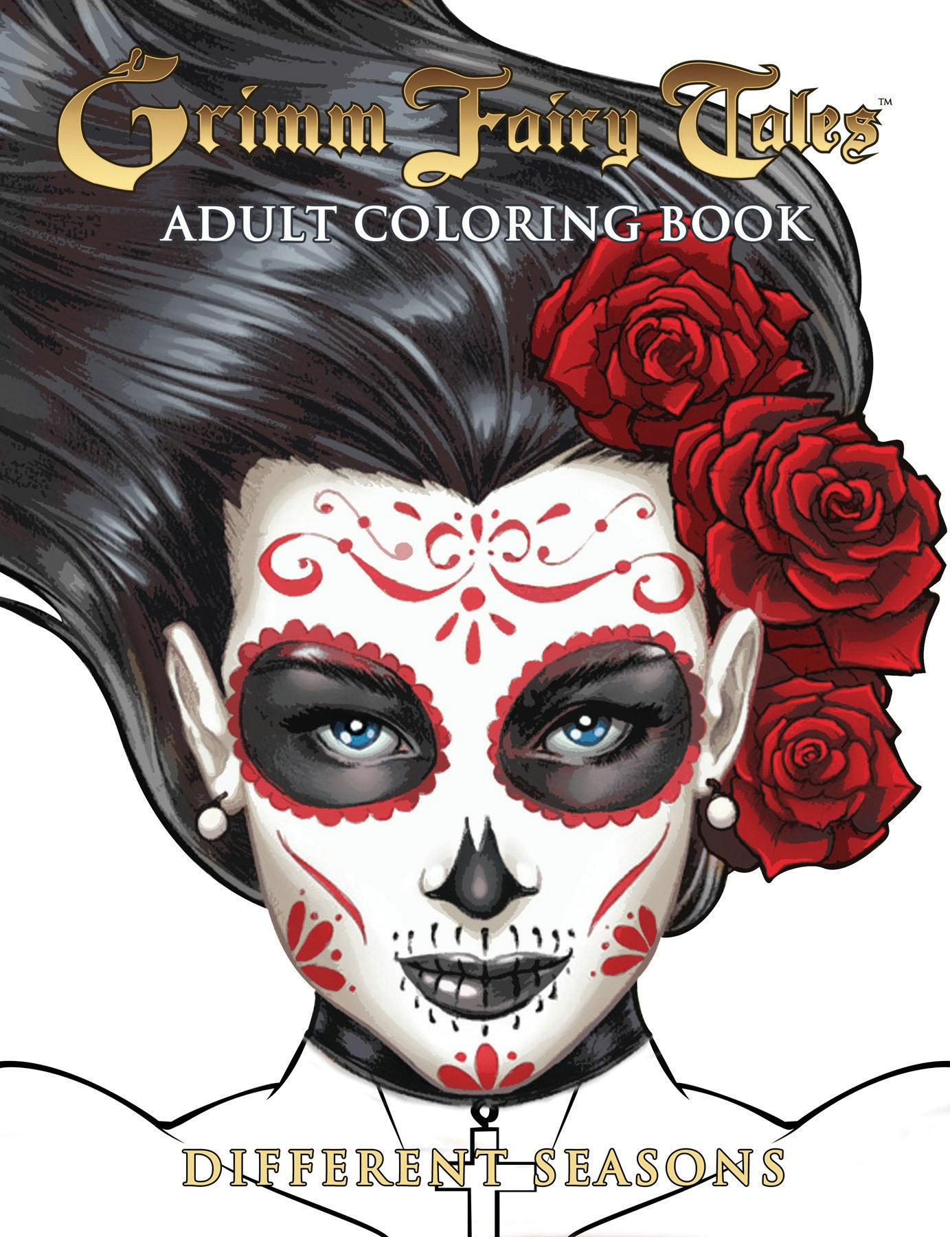 Grimm Fairy Tales Adult Coloring Book Different Seasons (Other)