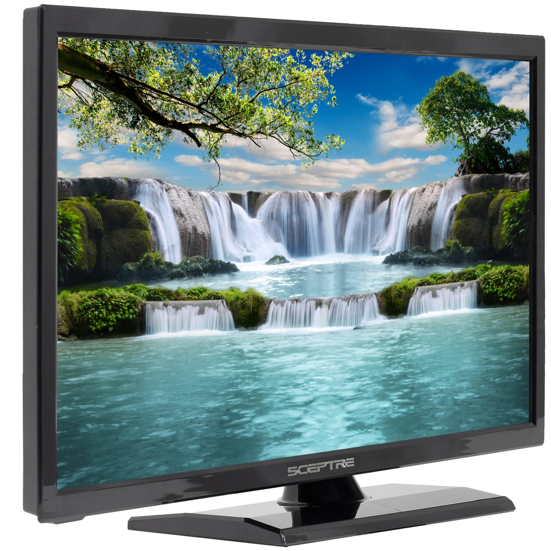 "Sceptre 19"" Class HD (720P) LED TV (E195BD-SR) with Built-in DVD Player"