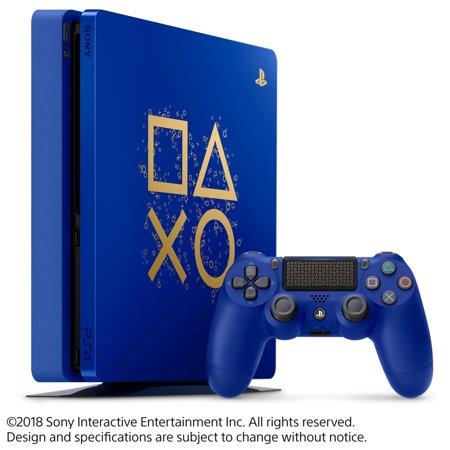 Sony PlayStation 4 1TB Slim Days of Play Limited Edition Blue, 3003131