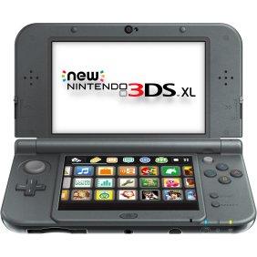 New Nintendo 3DS XL - Black, 045496781514
