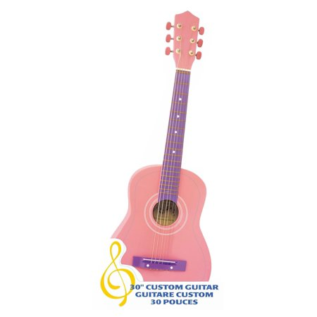 "Ready Ace 30"" Student Guitar, Pink"