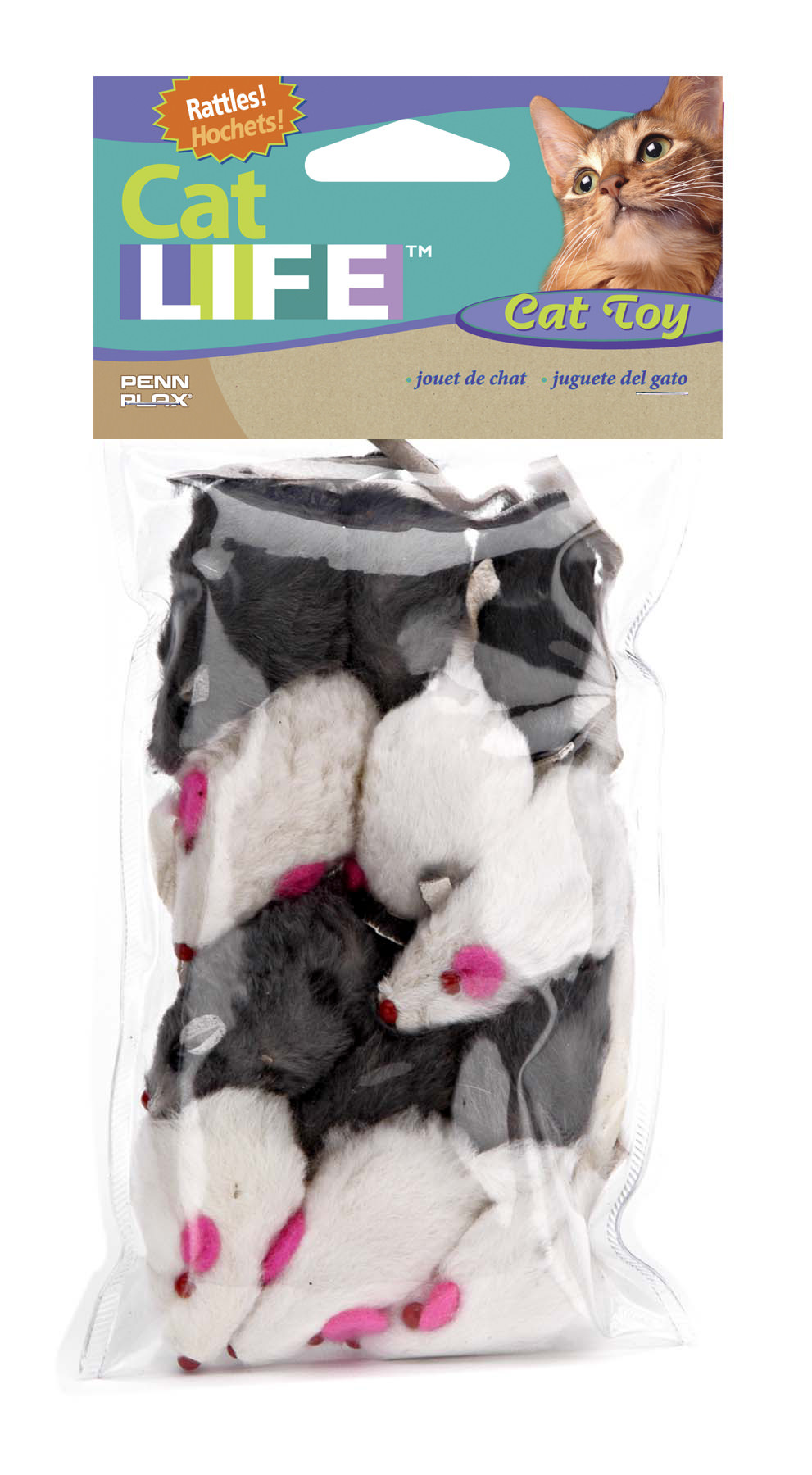 Mouse Cat Toys, 12 Pack