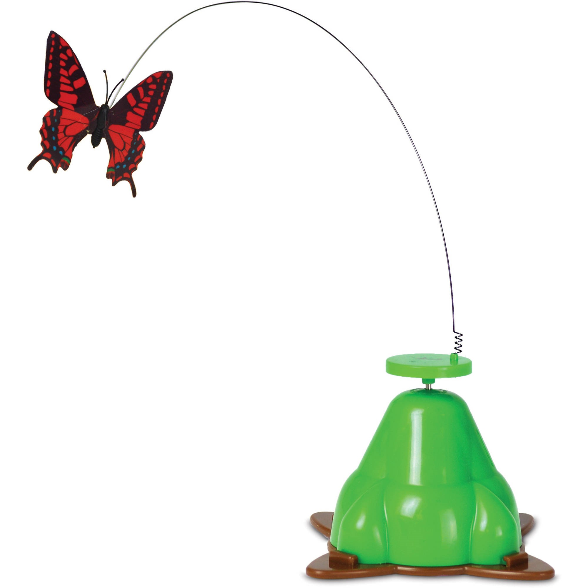 Pet Zone Fly By Spinner Cat Toy, each