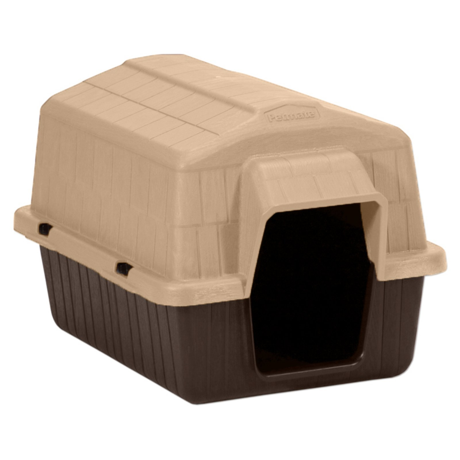 Aspen Pet Petbarn 3 Plastic Dog House, Up To 15 Lbs