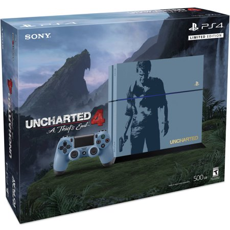PlayStation 4 Limited Edition Uncharted 4 Console Bundle (PS4)