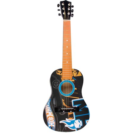 "Hot Wheels Flame 30"" Acoustic Guitar"