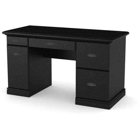 Better Homes and Gardens Computer Desk, Black Ebony Ash