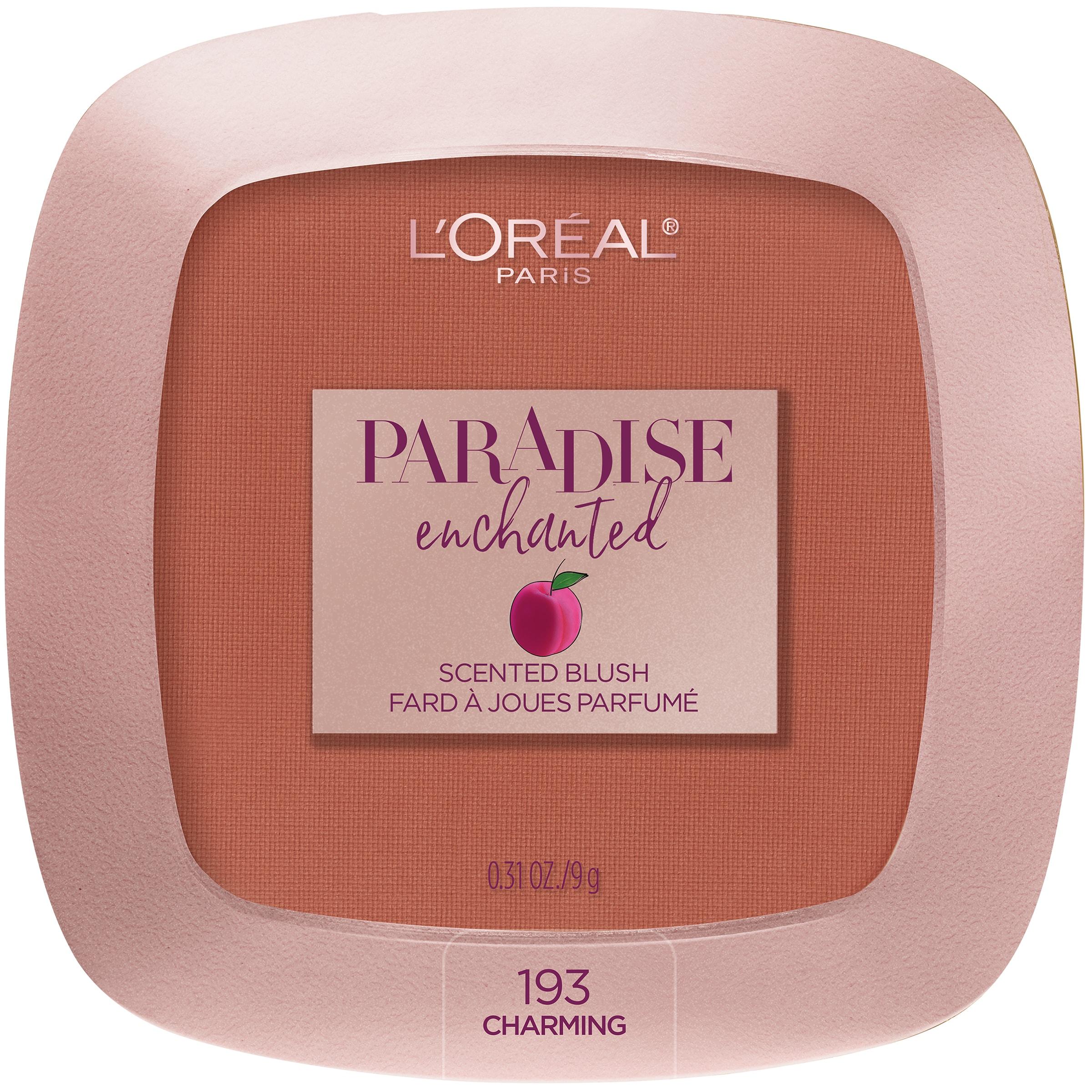 L'Oreal Paris Paradise Enchanted Fruit-Scented Blush Makeup, Charming
