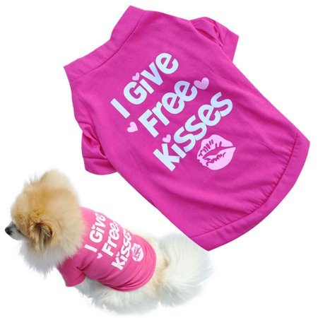 Hot SaleHot!New Pet Puppy Summer Shirt Small Dog Cat Pet Clothes Vest T Shirt