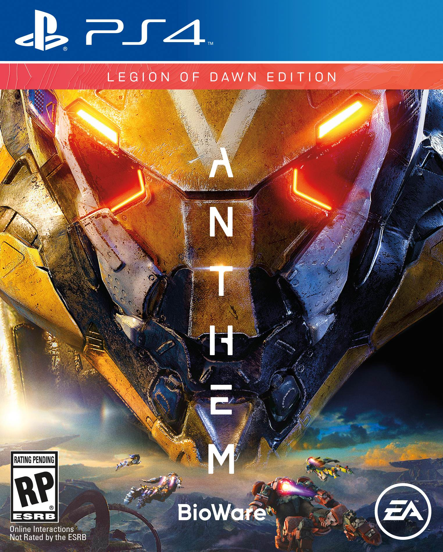Anthem Legend of Dawn, Electronic Arts, PlayStation 4, 014633739183