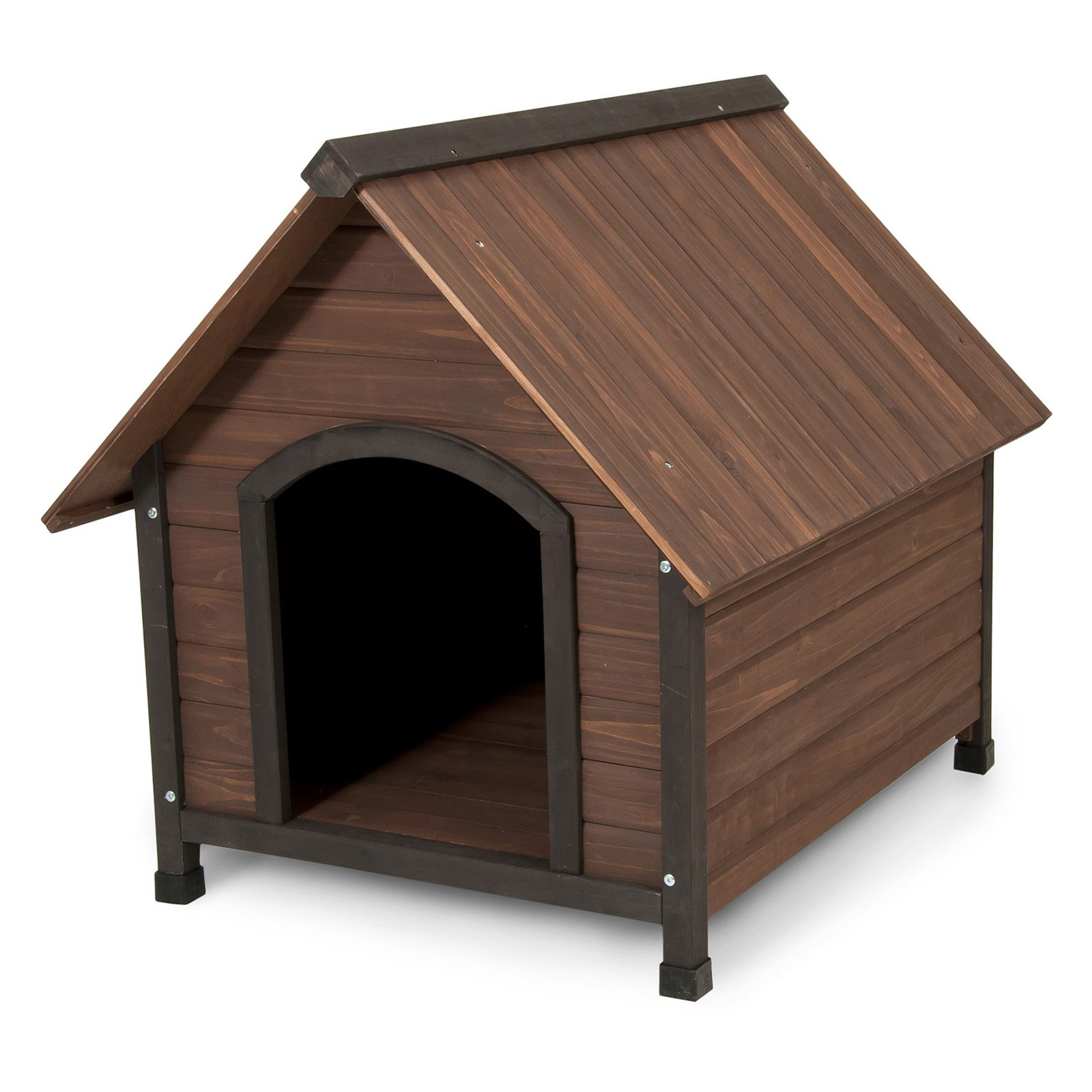 "Petmate Doskocil Co Inc 25038 34.32"" X 38.52"" X 31.8"" Ruff Hauz® Offset Entry Dog House"