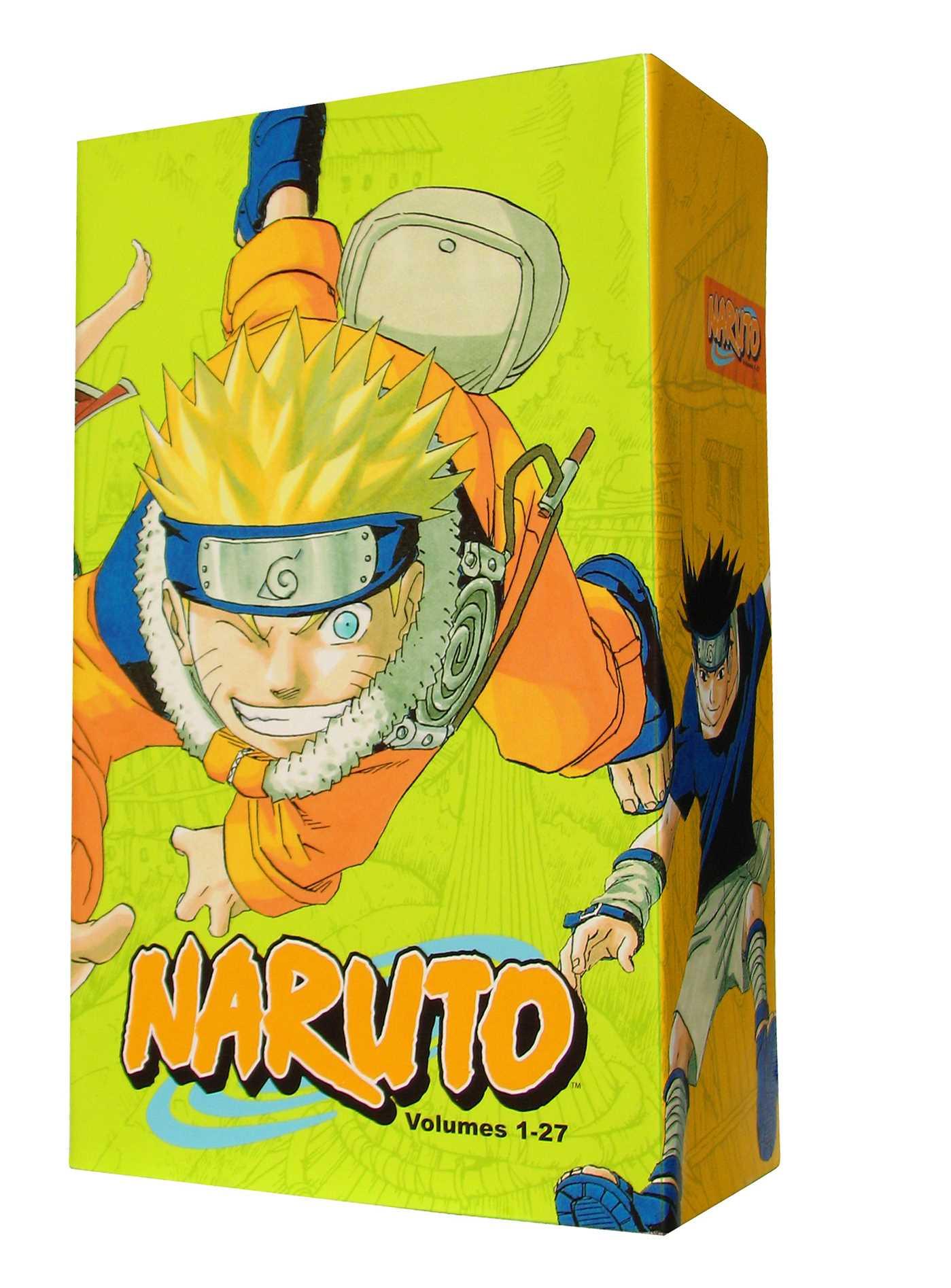 Naruto Box Set 1 : Volumes 1-27 with Premium