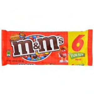 M&M'S FUN SIZE (6 BARS)