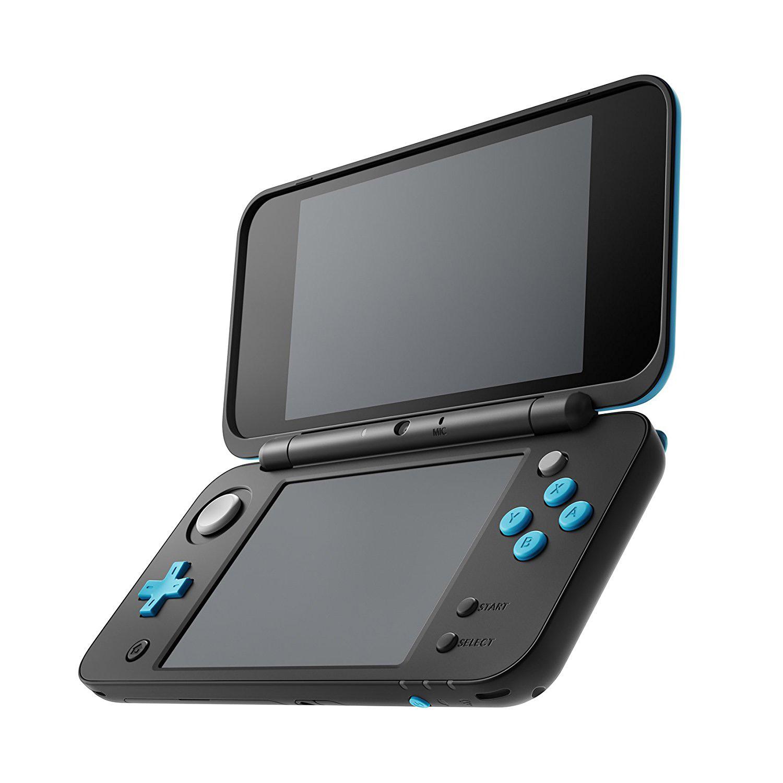 New Nintendo 2DS XL - Black & Turquoise, JANSBAAB