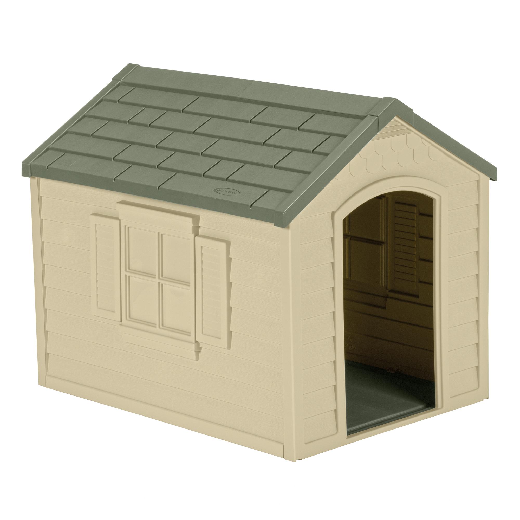 Suncast Deluxe Dog House, DH250
