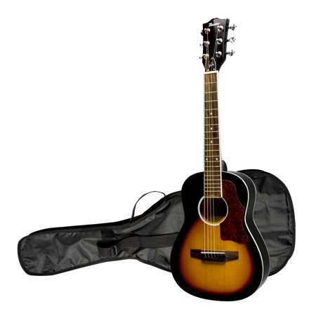 "The Maestro by Gibson 30"" Mini Acoustic Guitar with Case, Vintage Sunburst"