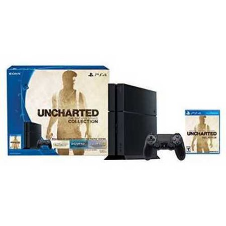 Refurbished PlayStation 4 500GB Console - Uncharted: The Nathan Drake Collection Bundle (Physical Disc)