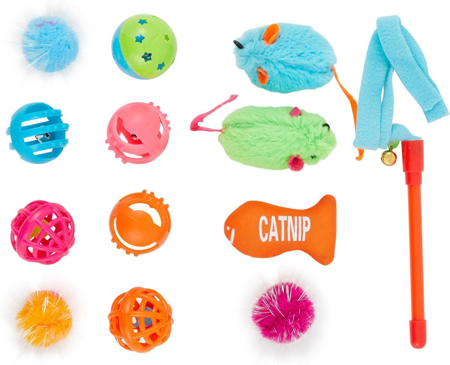 Hartz Just For Cats 13 Piece Variety Pack Cat Toys