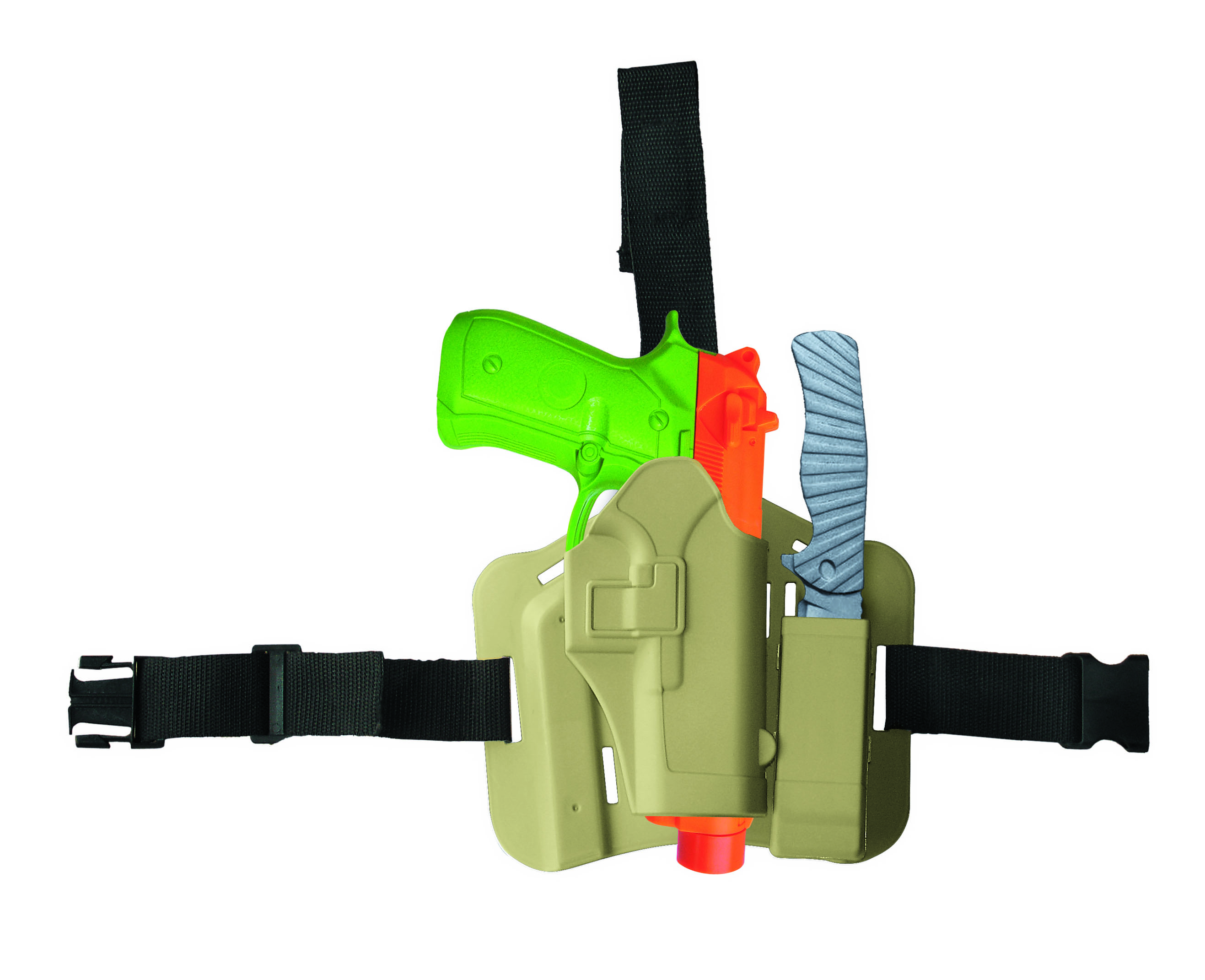 Adventure Force Falcon Special Force Roleplay Leg Holster Set, 5 Pieces