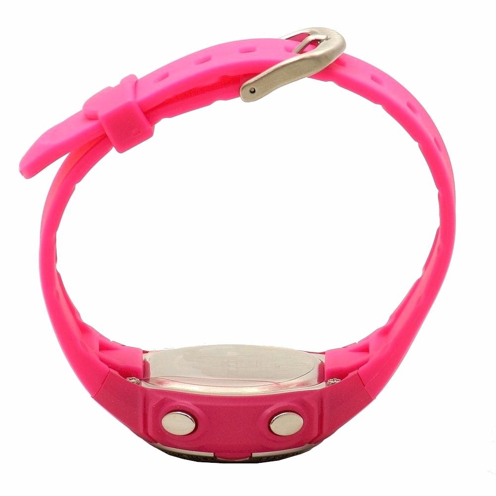 Timex Marathon by Timex Women's Digital Mid-Size Watch, Bright Pink Resin Strap