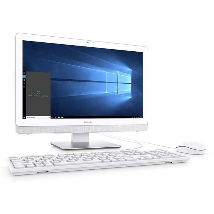 Desktop Dell 2T4RR AMD Quad-Core 2GHz Windows 10 Home 4GB 1TB 21.5 Inch