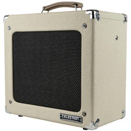 MONOPRICE 15-Watt, 1x12 Guitar Combo Tube Amplifier with Celestion Speaker & Spring Reverb